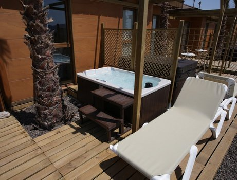 Polynesian supreme sea view jacuzi yacht club magic natura animal, waterpark resort benidorm