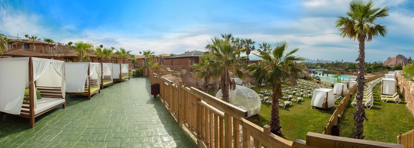 Lits balinais magic natura animal, waterpark resort benidorm