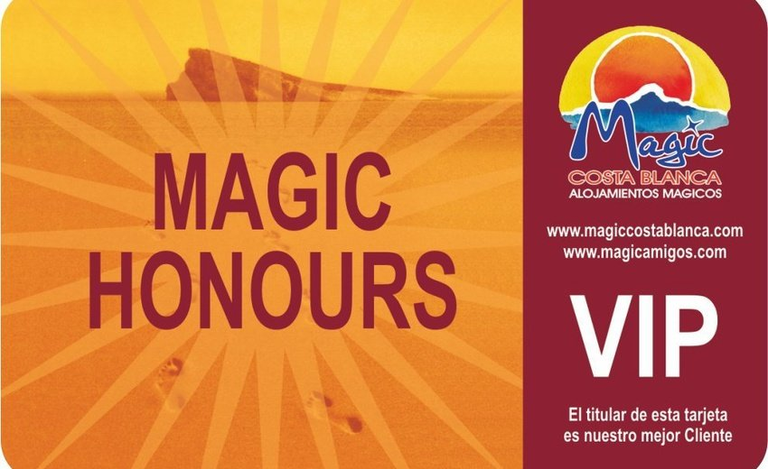Club VIP 'Magic Honours' Magic Natura Animal, Waterpark & Polynesian Resort Benidorm