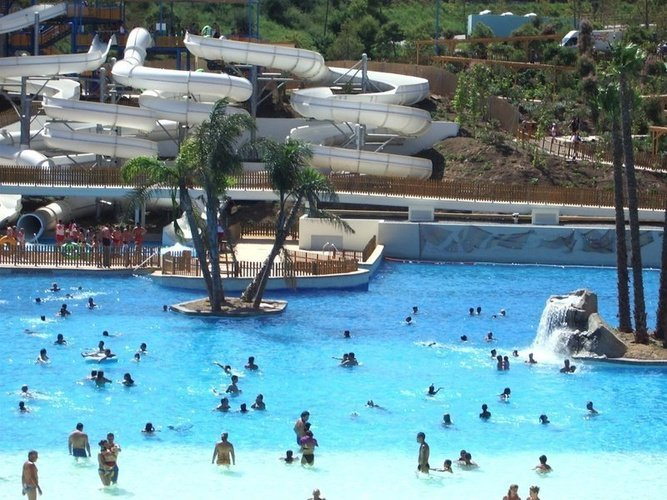 Piscine magic natura animal, waterpark resort benidorm